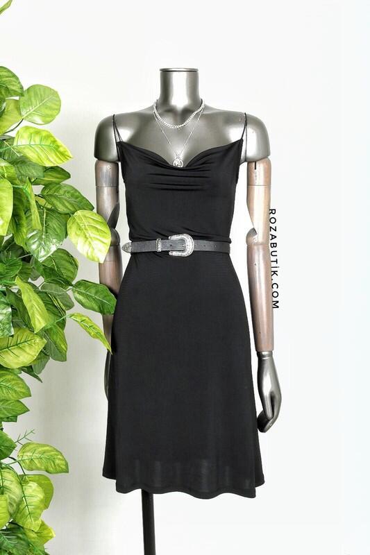 - Degaje Elbise Siyah